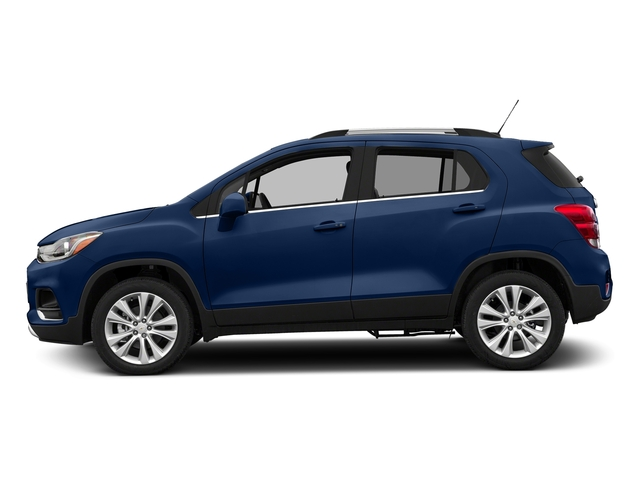 Blue Topaz Metallic 2017 Chevrolet Trax Pictures Trax AWD 4dr Premier photos side view