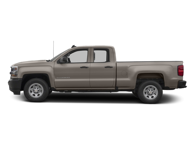 Pepperdust Metallic 2017 Chevrolet Silverado 1500 Pictures Silverado 1500 2WD Double Cab 143.5 Work Truck photos side view