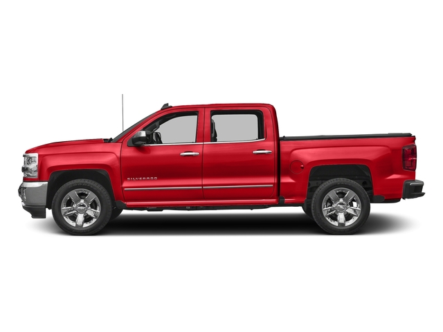 Red Hot 2017 Chevrolet Silverado 1500 Pictures Silverado 1500 4WD Crew Cab 153.0 LTZ w/1LZ photos side view