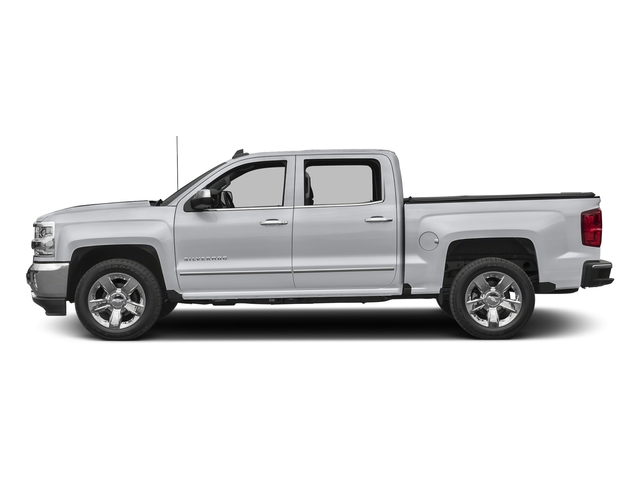 Silver Ice Metallic 2017 Chevrolet Silverado 1500 Pictures Silverado 1500 4WD Crew Cab 153.0 LTZ w/1LZ photos side view