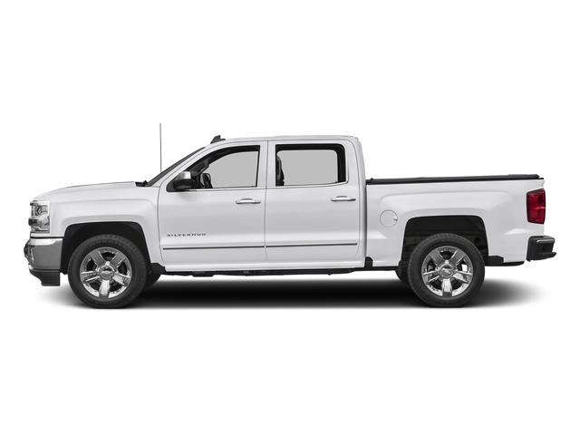 Summit White 2017 Chevrolet Silverado 1500 Pictures Silverado 1500 4WD Crew Cab 153.0 LTZ w/1LZ photos side view