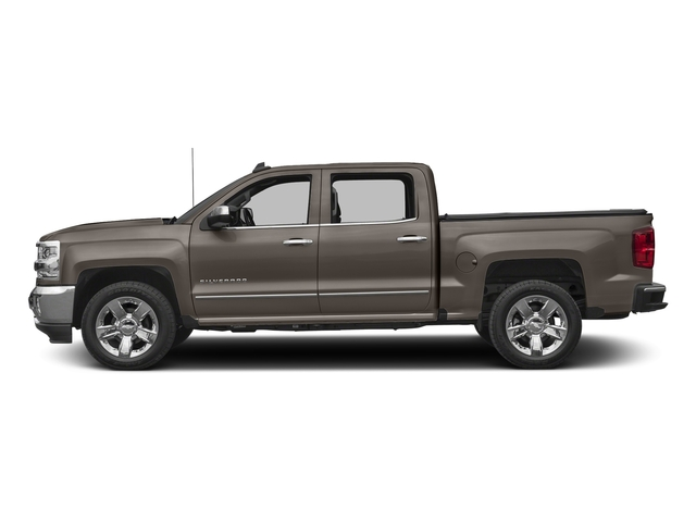 Pepperdust Metallic 2017 Chevrolet Silverado 1500 Pictures Silverado 1500 4WD Crew Cab 153.0 LTZ w/1LZ photos side view