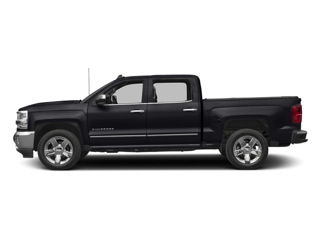 Graphite Metallic 2017 Chevrolet Silverado 1500 Pictures Silverado 1500 4WD Crew Cab 153.0 LTZ w/1LZ photos side view
