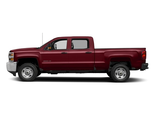 Butte Red Metallic 2017 Chevrolet Silverado 2500HD Pictures Silverado 2500HD 2WD Crew Cab 153.7 Work Truck photos side view
