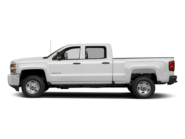 Summit White 2017 Chevrolet Silverado 2500HD Pictures Silverado 2500HD 2WD Crew Cab 153.7 Work Truck photos side view