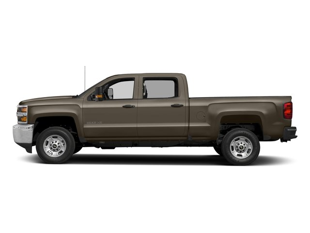 Pepperdust Metallic 2017 Chevrolet Silverado 2500HD Pictures Silverado 2500HD 2WD Crew Cab 153.7 Work Truck photos side view