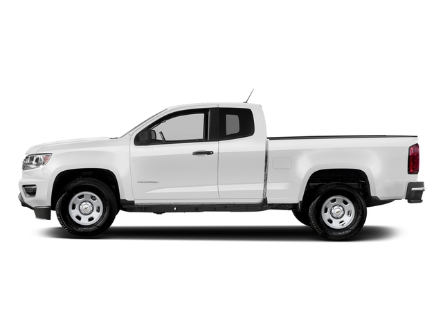 Summit White 2017 Chevrolet Colorado Pictures Colorado 2WD Ext Cab 128.3 Base photos side view