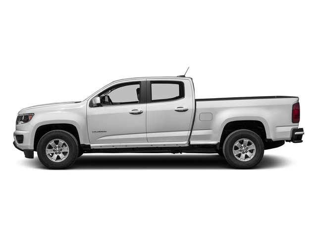 Summit White 2017 Chevrolet Colorado Pictures Colorado 2WD Crew Cab 140.5 WT photos side view