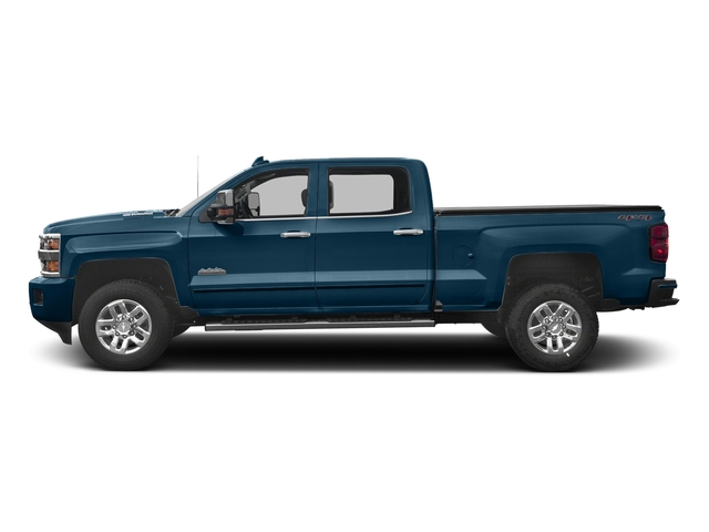 Deep Ocean Blue Metallic 2017 Chevrolet Silverado 3500HD Pictures Silverado 3500HD 2WD Crew Cab 153.7 High Country photos side view