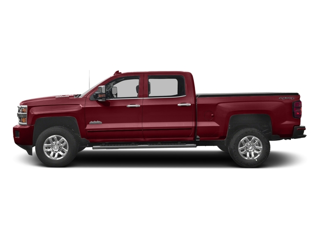 Butte Red Metallic 2017 Chevrolet Silverado 3500HD Pictures Silverado 3500HD 2WD Crew Cab 153.7 High Country photos side view