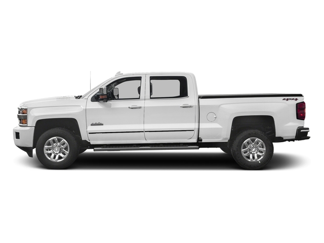 Summit White 2017 Chevrolet Silverado 3500HD Pictures Silverado 3500HD 2WD Crew Cab 153.7 High Country photos side view