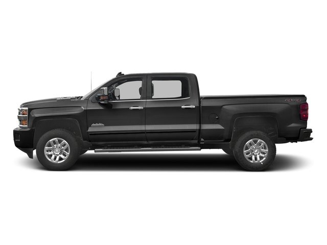 Black 2017 Chevrolet Silverado 3500HD Pictures Silverado 3500HD 2WD Crew Cab 153.7 High Country photos side view