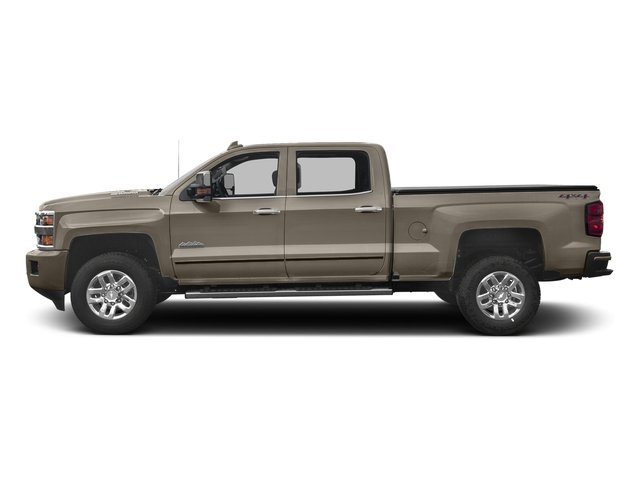 Pepperdust Metallic 2017 Chevrolet Silverado 3500HD Pictures Silverado 3500HD 2WD Crew Cab 153.7 High Country photos side view