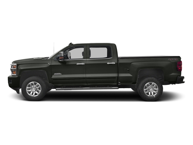 Graphite Metallic 2017 Chevrolet Silverado 3500HD Pictures Silverado 3500HD 2WD Crew Cab 153.7 High Country photos side view