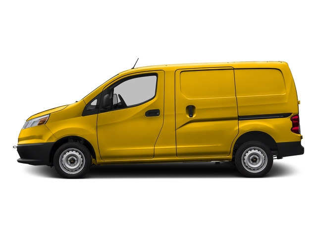 Sunglow Yellow 2017 Chevrolet City Express Cargo Van Pictures City Express Cargo Van FWD 115 LS photos side view