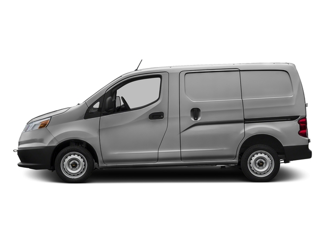 Galvanized Silver 2017 Chevrolet City Express Cargo Van Pictures City Express Cargo Van FWD 115 LS photos side view