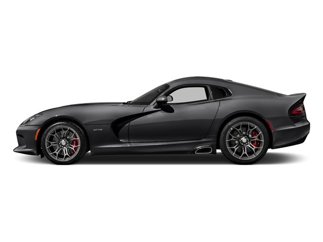 Gunmetal Pearl 2017 Dodge Viper Pictures Viper 2 Door Coupe photos side view