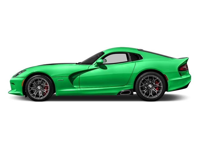 Stryker Green Tri-Coat Pearl 2017 Dodge Viper Pictures Viper GTC Coupe photos side view