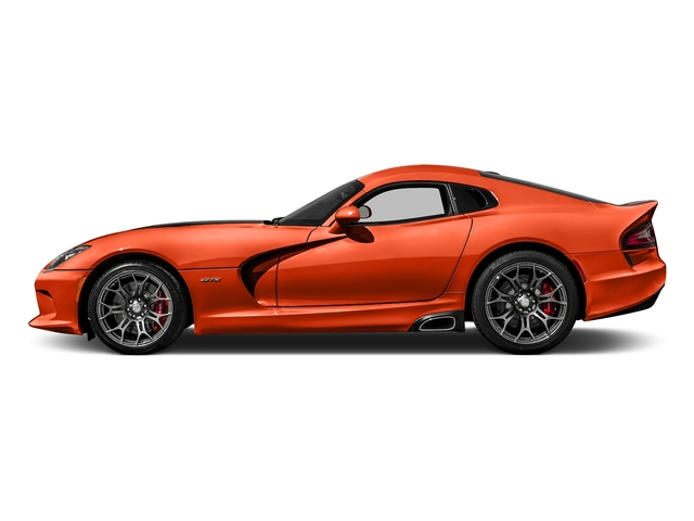 Stryker Orange Tri-Coat Pearl 2017 Dodge Viper Pictures Viper GTC Coupe photos side view