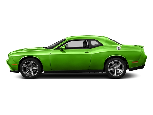 Green Go Clearcoat 2017 Dodge Challenger Pictures Challenger SXT Plus Coupe photos side view