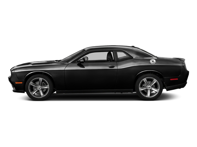 Pitch Black Clearcoat 2017 Dodge Challenger Pictures Challenger SXT Plus Coupe photos side view