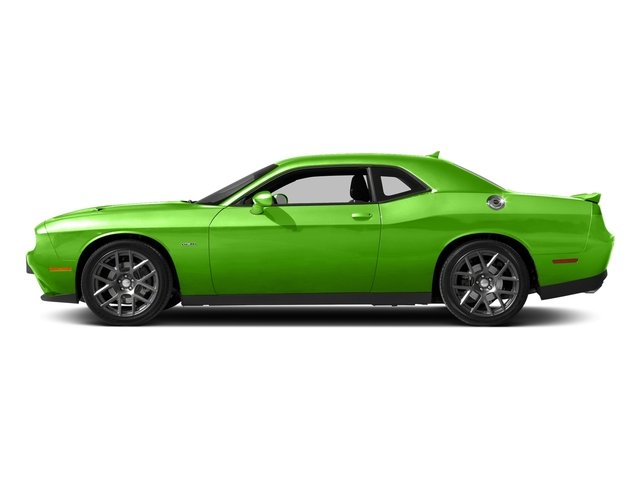 Green Go Clearcoat 2017 Dodge Challenger Pictures Challenger Coupe 2D R/T Plus V8 photos side view