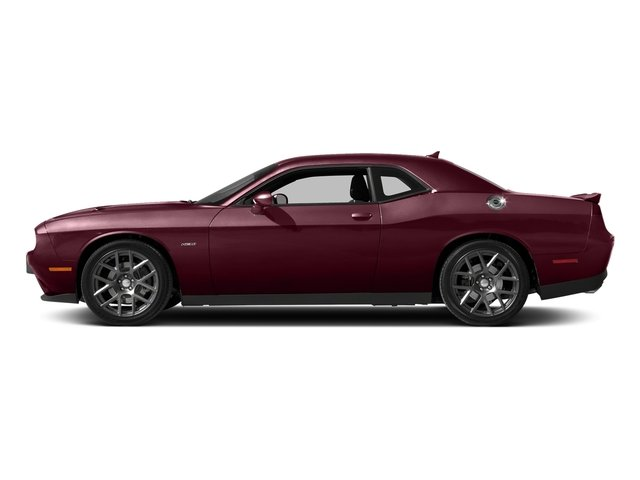 Octane Red Pearlcoat 2017 Dodge Challenger Pictures Challenger Coupe 2D R/T Plus V8 photos side view