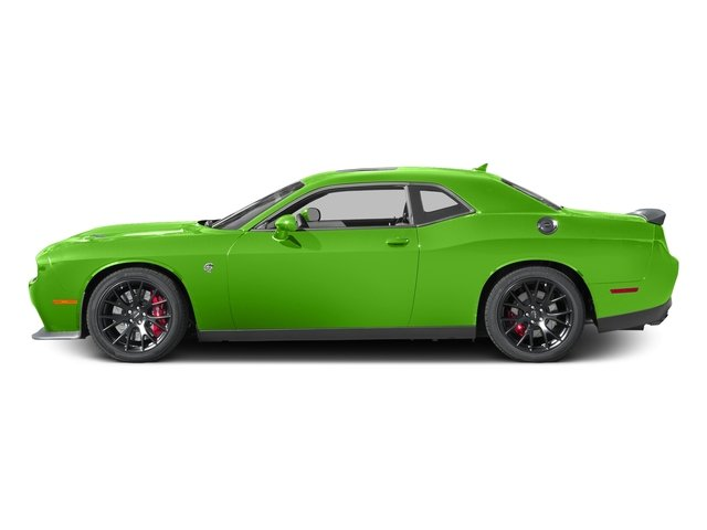 Green Go Clearcoat 2017 Dodge Challenger Pictures Challenger SRT Hellcat Coupe photos side view