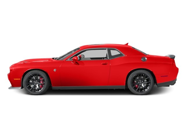 Go Mango 2017 Dodge Challenger Pictures Challenger Coupe 2D SRT Hellcat V8 Supercharged photos side view