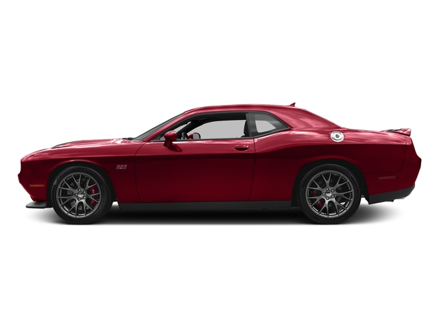 Redline Red Tricoat Pearl 2017 Dodge Challenger Pictures Challenger SRT 392 Coupe photos side view
