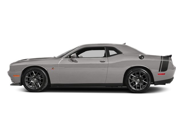 Destroyer Gray Clearcoat 2017 Dodge Challenger Pictures Challenger 392 Hemi Scat Pack Shaker Coupe photos side view