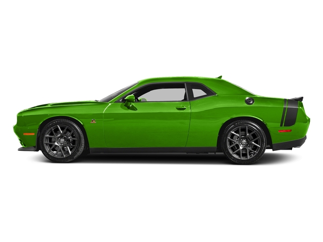 Green Go Clearcoat 2017 Dodge Challenger Pictures Challenger 392 Hemi Scat Pack Shaker Coupe photos side view
