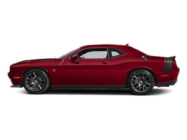 Redline Red Tricoat Pearl 2017 Dodge Challenger Pictures Challenger 392 Hemi Scat Pack Shaker Coupe photos side view