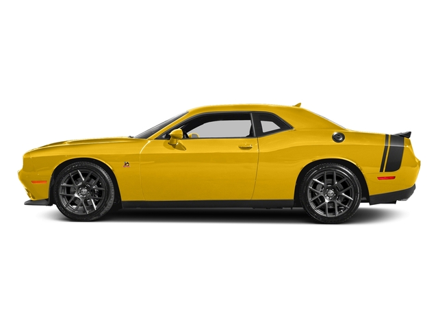 Yellow Jacket Clearcoat 2017 Dodge Challenger Pictures Challenger 392 Hemi Scat Pack Shaker Coupe photos side view
