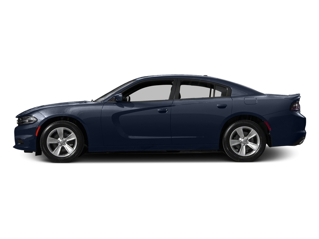 Contusion Blue Pearlcoat 2017 Dodge Charger Pictures Charger SE RWD photos side view