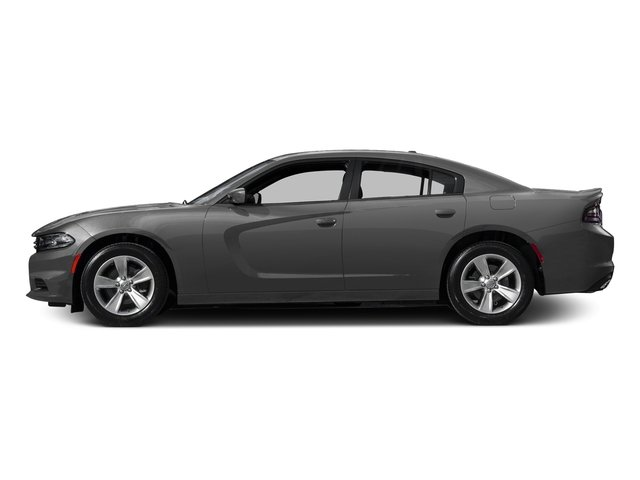 Destroyer Gray Clearcoat 2017 Dodge Charger Pictures Charger Sedan 4D SE V6 photos side view