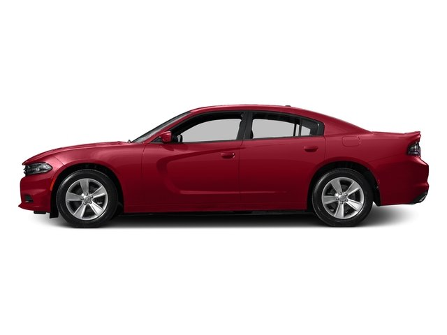 Redline Red Tricoat Pearl 2017 Dodge Charger Pictures Charger Sedan 4D SE AWD V6 photos side view