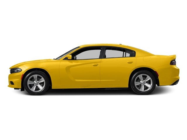 Yellow Jacket Clearcoat 2017 Dodge Charger Pictures Charger Sedan 4D SE AWD V6 photos side view
