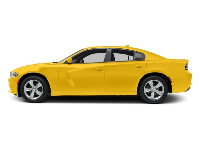 Yellow Jacket Clearcoat 2017 Dodge Charger Pictures Charger SXT AWD photos side view