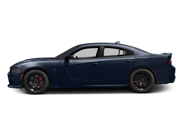 Contusion Blue Pearlcoat 2017 Dodge Charger Pictures Charger Sedan 4D SRT Hellcat V8 Supercharged photos side view