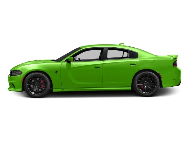 Green Go Clearcoat 2017 Dodge Charger Pictures Charger Sedan 4D SRT Hellcat V8 Supercharged photos side view