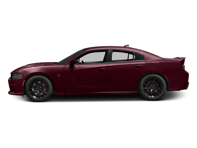 Octane Red Pearlcoat 2017 Dodge Charger Pictures Charger Sedan 4D SRT Hellcat V8 Supercharged photos side view