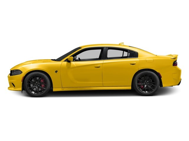 Yellow Jacket Clearcoat 2017 Dodge Charger Pictures Charger Sedan 4D SRT Hellcat V8 Supercharged photos side view