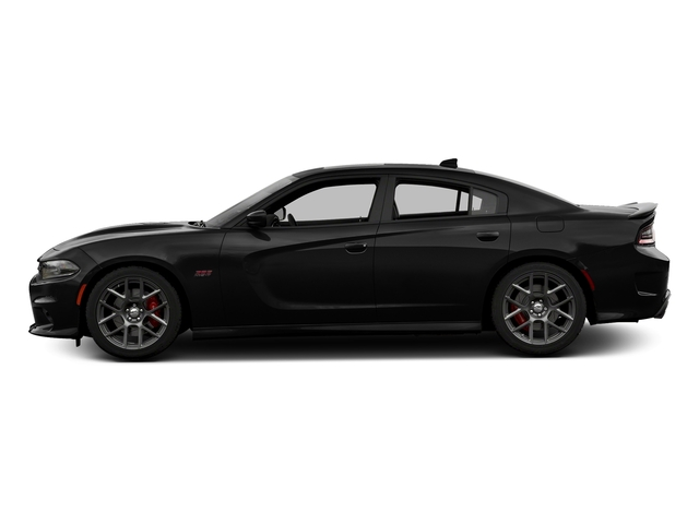 Pitch Black Clearcoat 2017 Dodge Charger Pictures Charger Sedan 4D Daytona 392 V8 photos side view