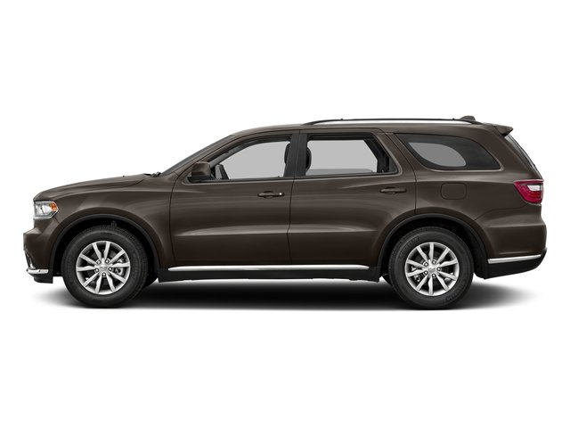 Stout Brown Met. Clearcoat 2017 Dodge Durango Pictures Durango Utility 4D GT AWD V6 photos side view
