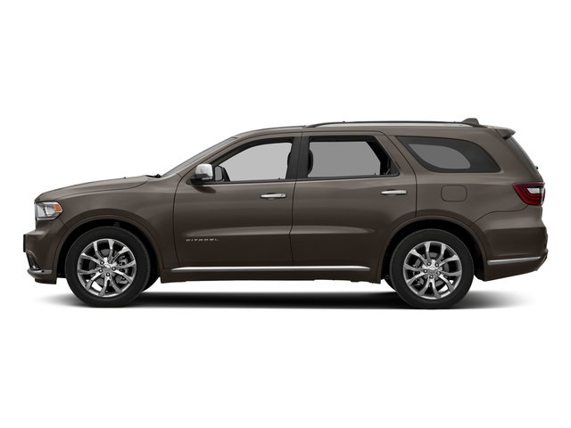 Stout Brown Met. Clearcoat 2017 Dodge Durango Pictures Durango Citadel RWD photos side view