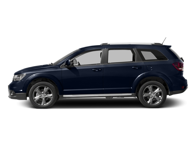 Contusion Blue Pearlcoat 2017 Dodge Journey Pictures Journey Utility 4D Crossroad AWD V6 photos side view