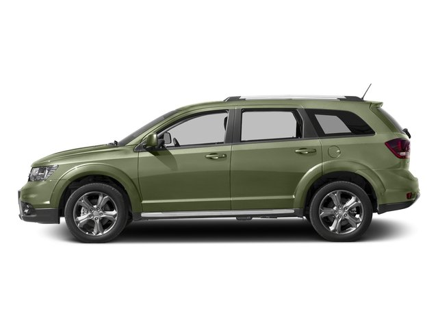 Verde Oliva (Olive Green) 2017 Dodge Journey Pictures Journey Utility 4D Crossroad AWD V6 photos side view