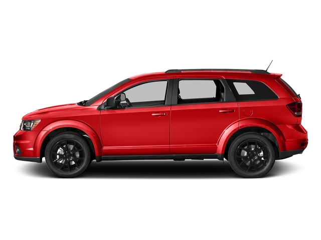 Blood Orange Clearcoat 2017 Dodge Journey Pictures Journey GT FWD photos side view