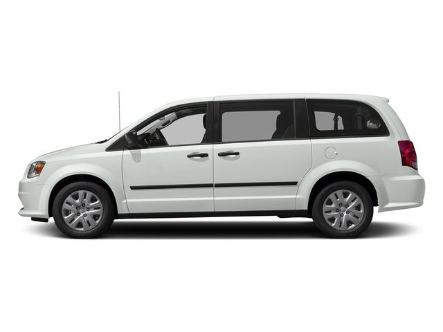 White Knuckle Clearcoat 2017 Dodge Grand Caravan Pictures Grand Caravan Grand Caravan SE V6 photos side view